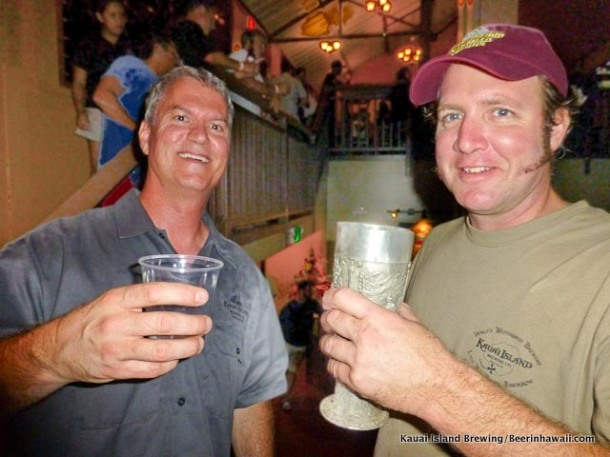 Kauai Island Brewing Bret Larson and Dave Curry