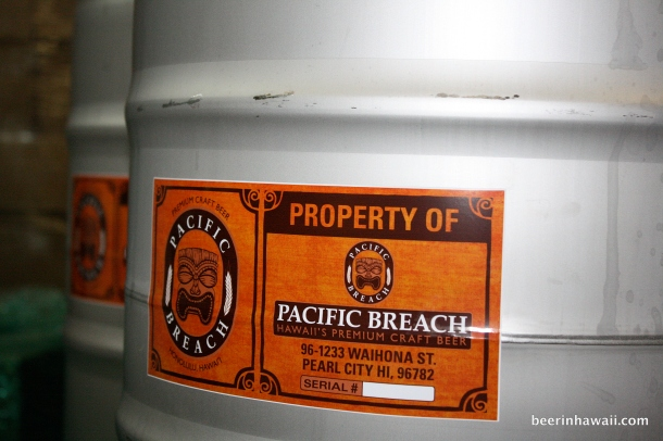 Pacific Breach Keg