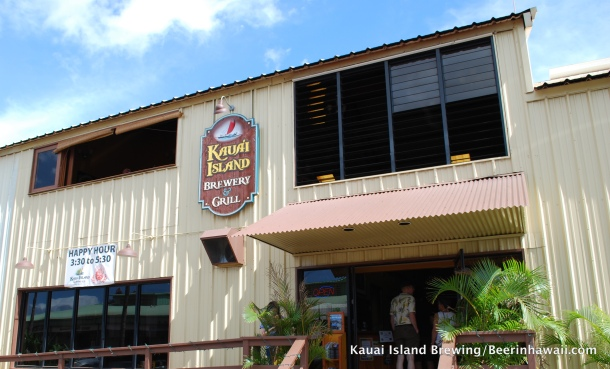 Kauai Island Brewing Front