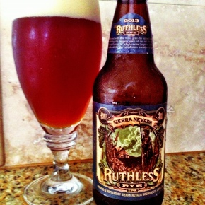 Try This Beer: Sierra Nevada Ruthless Rye