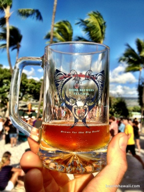 Craft Beer, Food and Sun at the 2013 Kona Brewers Festival