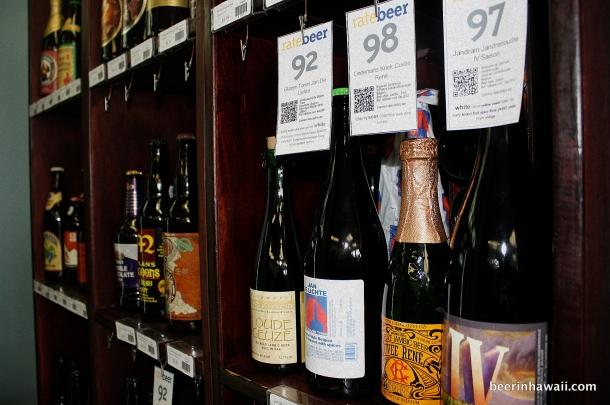 Swam Hawaii Beer Selection