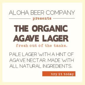 Aloha Beer Releases Organic AgaveLager
