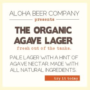Aloha Beer Releases Organic Agave Lager