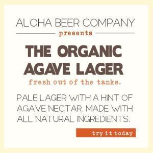 Organic Agave Lager Aloha Beer