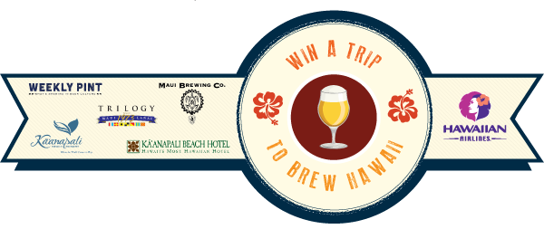 Weekly Pint Maui Beer Vacation contest