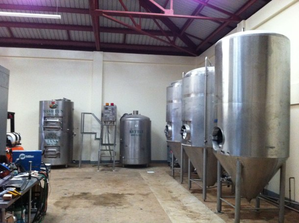 Kauai Beer Company Fermentors