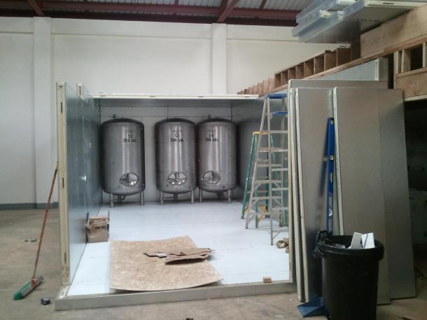 Kauai Beer Company Bright Tanks