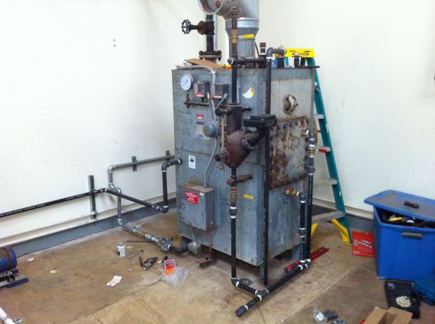 Kauai Beer Company boiler