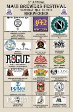 Maui Brewers Festival List of Beers 2013