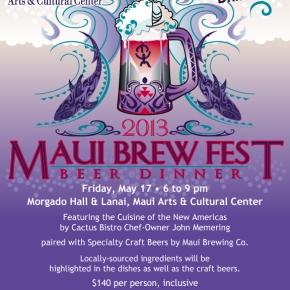 2013 Maui Brewers Festival Kicks Off With Friday Night BeerDinner