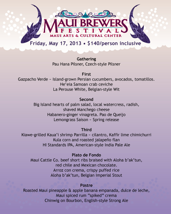 MBF2013 Beer Dinner Evite menu back