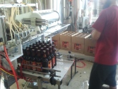 Big Island Brewhaus Bottling Line