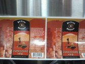 Big Island Brewhaus Overboard IPA label