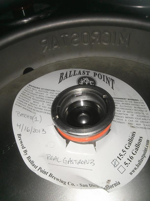 Ballast Point Real A Gastropub Anniversary Beer