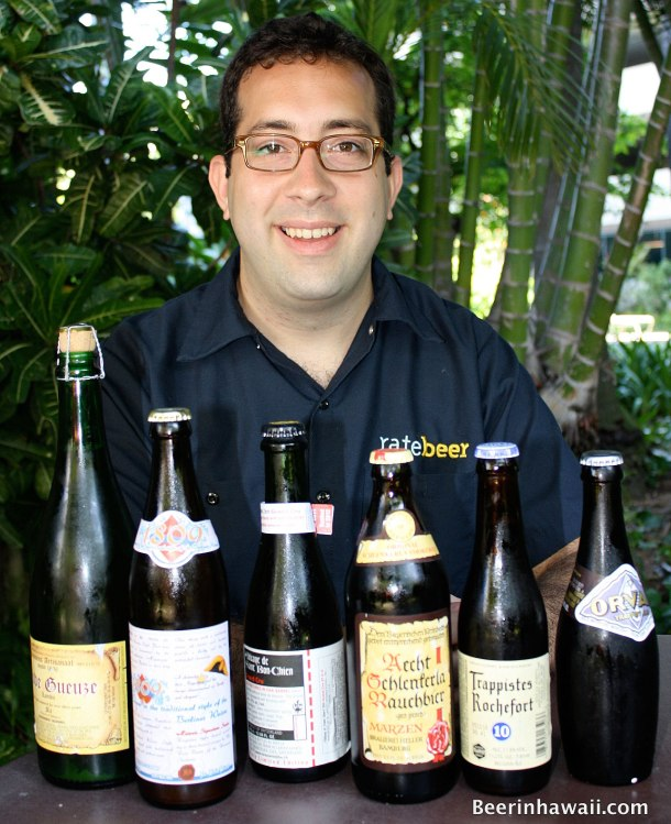 Grant Curlow Certified Cicerone Hawaii