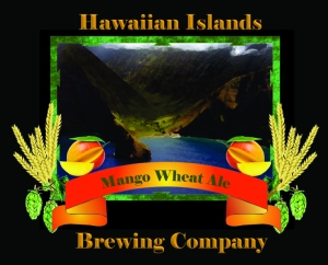 Hawaiian Islands Brewing Company Mango Wheat Ale