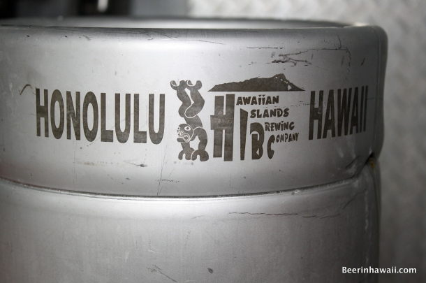 Hawaiian Islands Brewing Company Keg