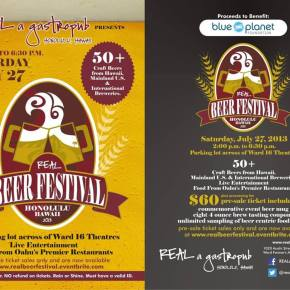 Brewery List For 2013 Real Beer FestivalOahu