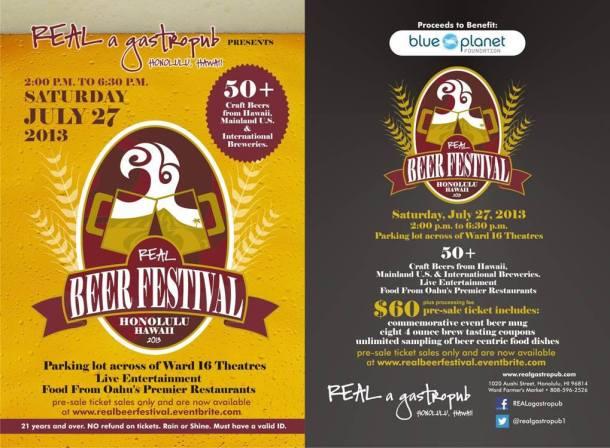 Real Beer Festival Oahu Poster