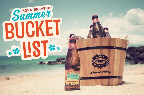 Kona Brewing Company Bucket List Contest