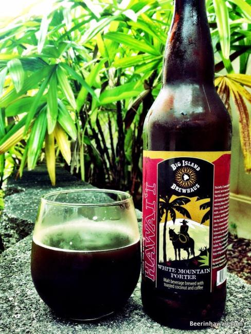 Big Island Brewhaus White Mountain Porter