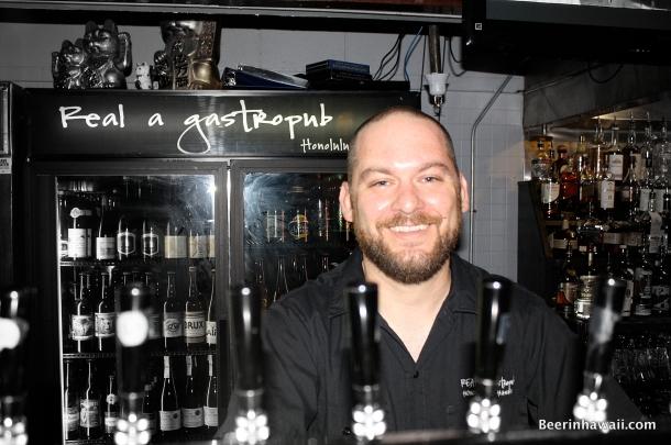 Tony Raso Real a Gastropub Honolulu
