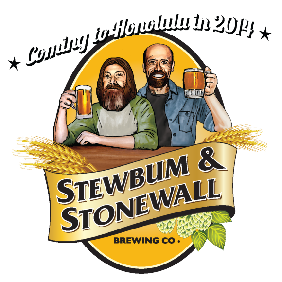 Stewbum and Stonewall Brewing Company Logo