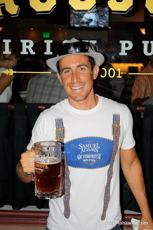 Boston Beer Market Manager Johnny Vaccaro