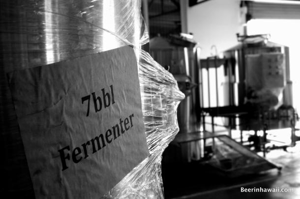 Honolulu Beerworks Fermentors