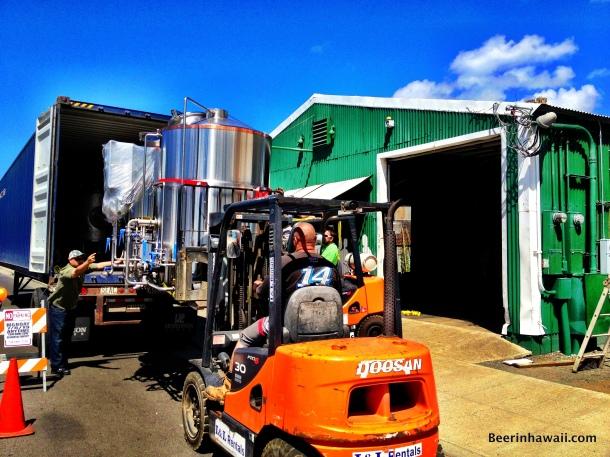 Honolulu Beerworks brewery delivery