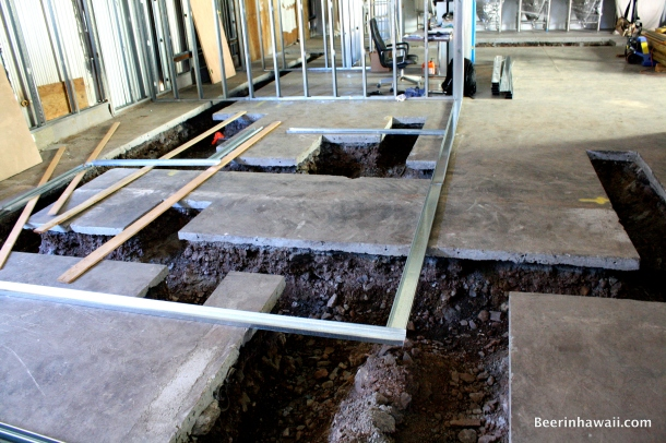 Honolulu Beerworks trenches