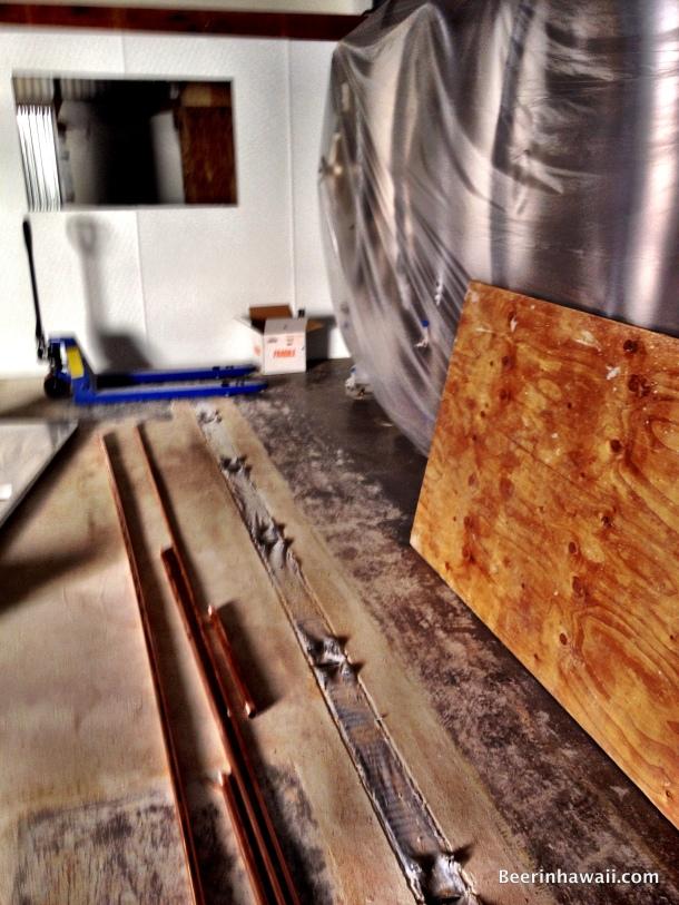 Honolulu Beerworks drains