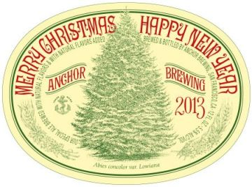 Anchor Christmas Ale 2013