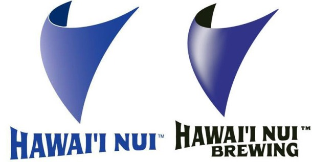 Hawaii Nui Brewing New and Old Logo