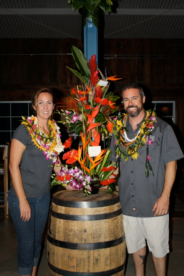 geoff and Charmayne Seideman Honolulu Beerworks