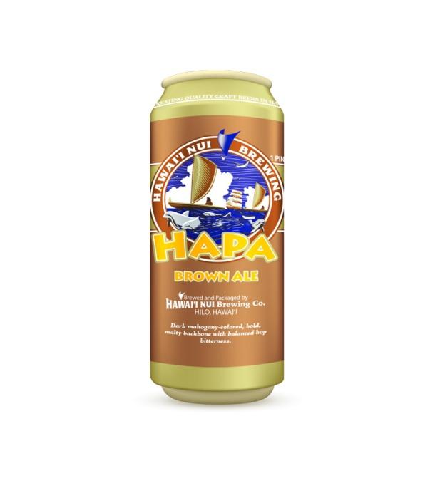 Hawaii Nui Hapa Brown Ale Tall Can