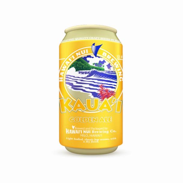 Hawaii Nui Brewing Kauai Golden Ale Can