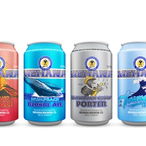 Mehana Brewing New Can Lineup