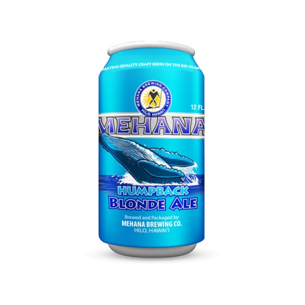 Mehana Brewing Humpback Blonde Ale Can