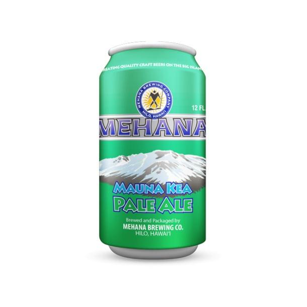 Mehana Brewing Mauna Kea Pale Ale Can