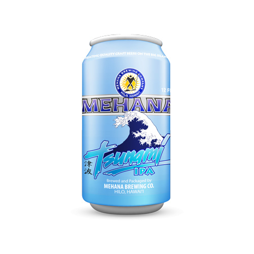 Mehana Brewing Tsunami IPA Can