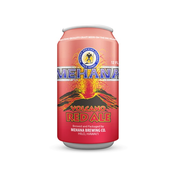 Mahana Brewing Volcano Red Ale Can
