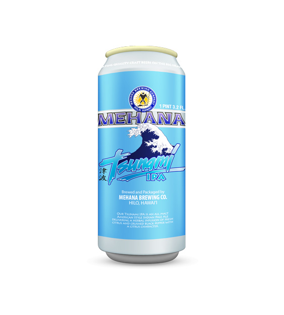 Mehana Brewing Tsunami IPA Large Can