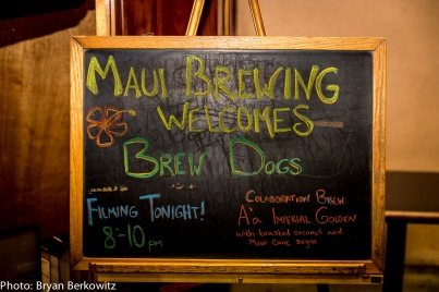 Brew Dogs Filming at Maui Brewing Co-010