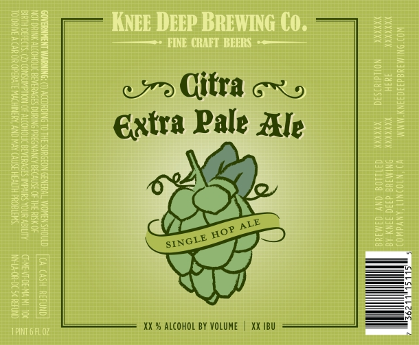 Knee Deep Brewing Citra Hawaii