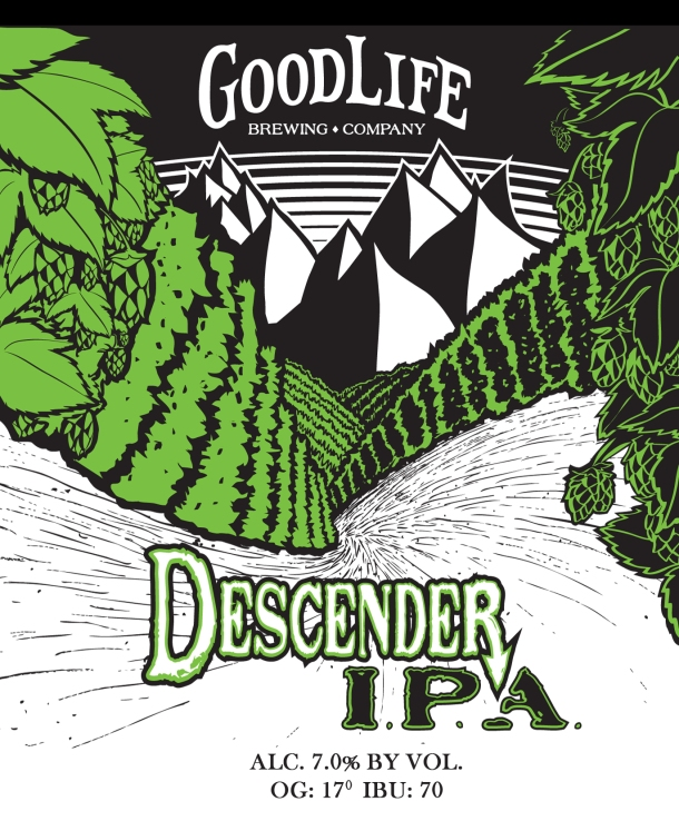 Good Life Brewing Descender IPA