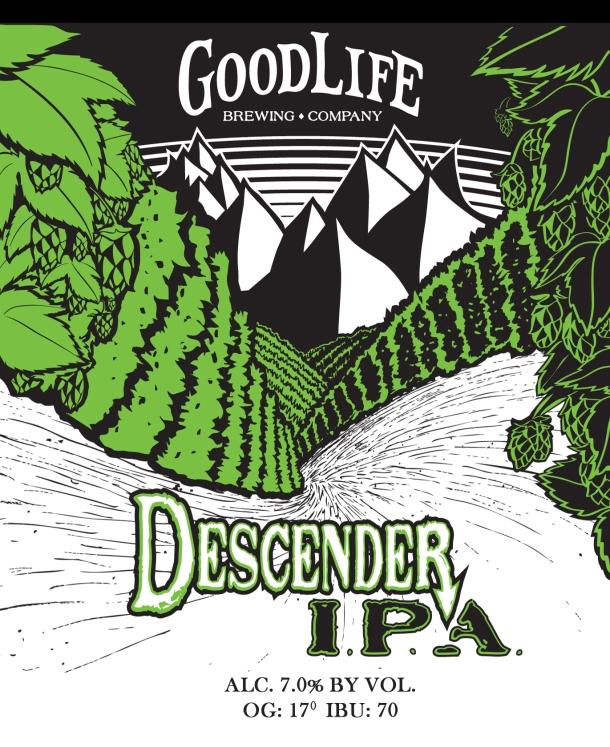 Good Life Brewing Descender IPA