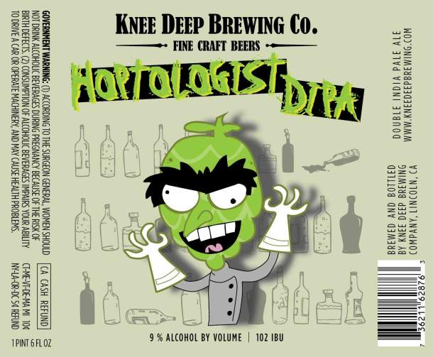 Knee Deep Brewing Hoptologist Hawaii