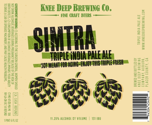 Knee Deep Brewing Simtra Hawaii